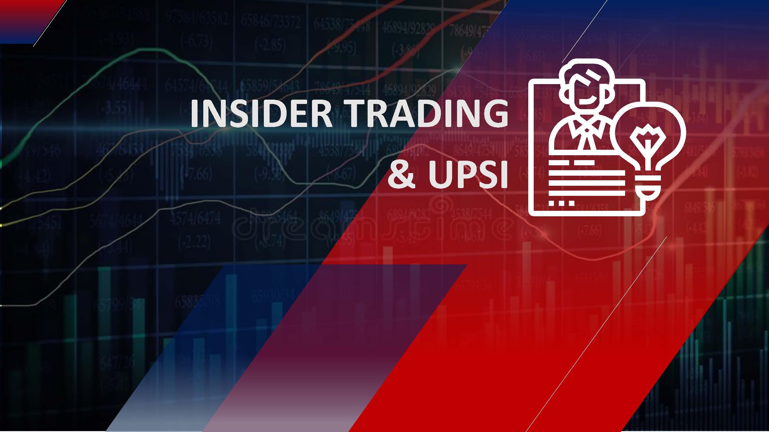 Insider Trading & UPSI