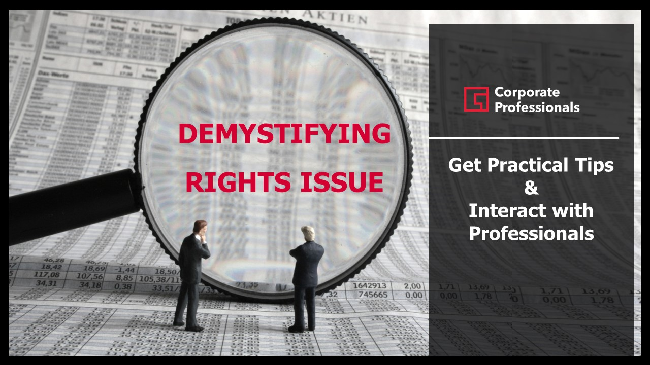 Demystifying Rights Issues – Get Practical Tips from Professionals and Interact with them